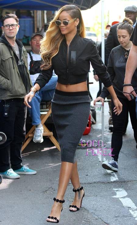 Rihanna Style Classy Girly Fashion Stylish Outfit