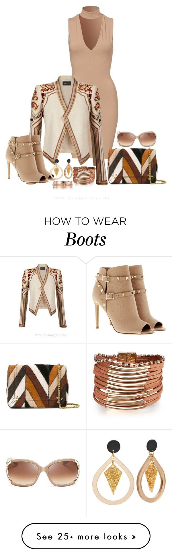 """Styling"" by freida-adams on Polyvore featuring BCBGMAXAZRIA, Valentino, Jérôme Dreyfuss, Tiffany & Co. and Kate Spade"
