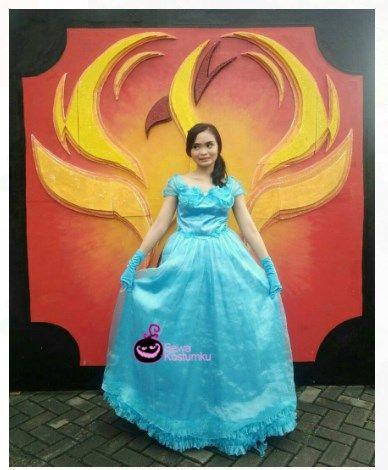 Sewa kostum princess di Bintaro Jakarta hub 0817 661 6654