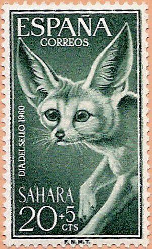 Sáhara Español, Día del Sello 1960 - Portal Fuenterrebollo