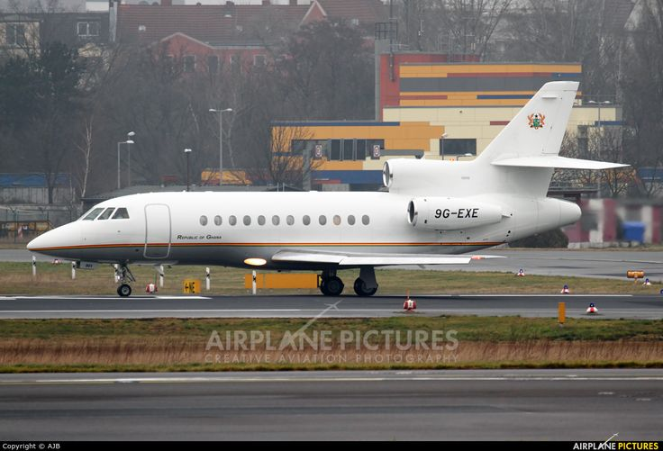 High quality photo of Ghana - Government Dassault Falcon 900 series by AJB. Visit Airplane-Pictures.net for creative aviation photography.