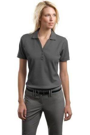 Port Authority Ladies Performance Waffle Mesh Sport Shirt, Deep Smoke Grey, M Port Authority. $19.78