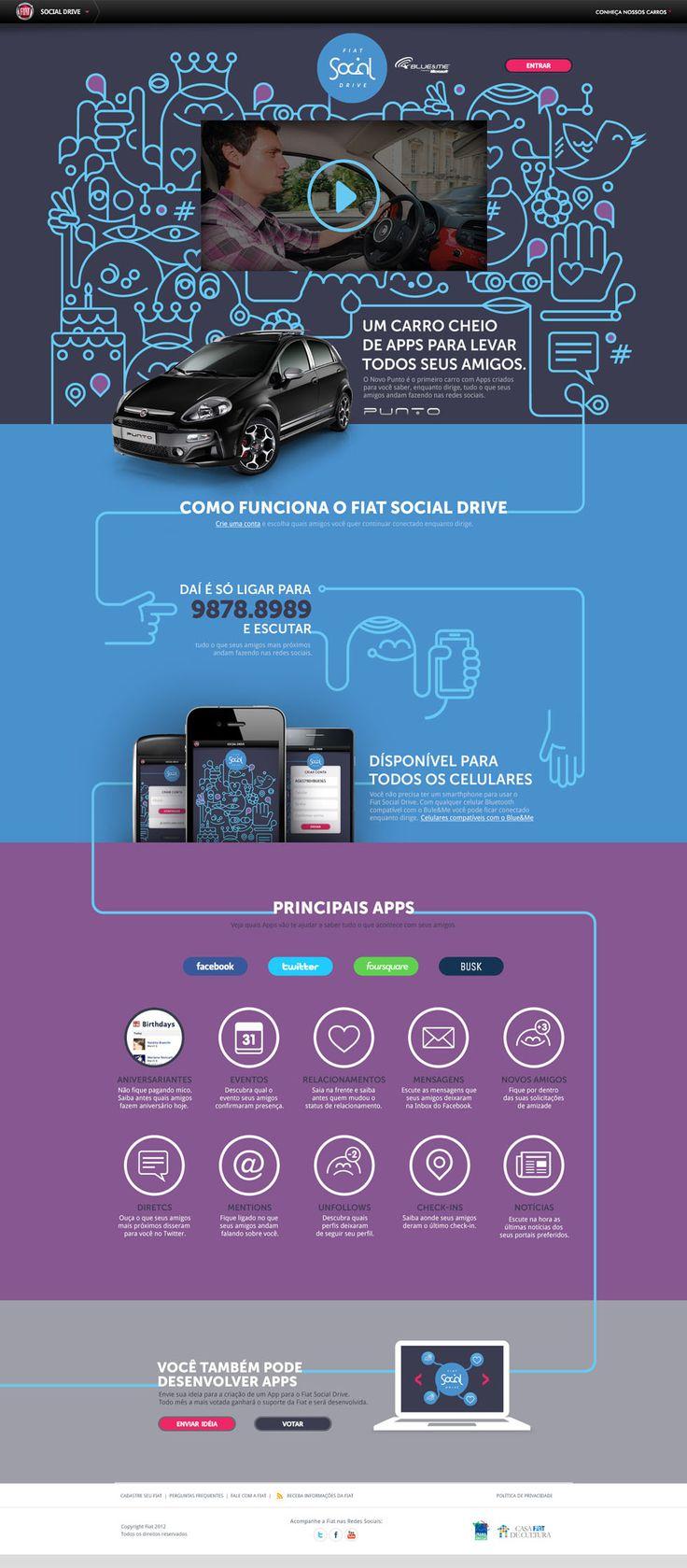 Social Drive - Bruno Oyama - Interactive Designer & Art Director