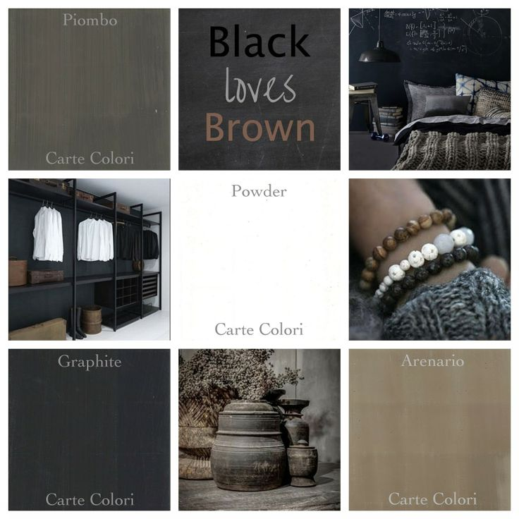 Styling Interieuradvies: Black loves brown