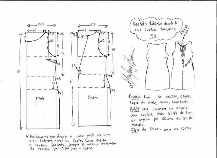 Выкройка платья размер 36-56 (Шитье и крой) | Журнал Вдохновение Рукодельницы