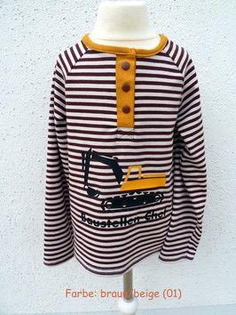 Shirt Geno 56 - 164 in 6 verschiedenen Farben