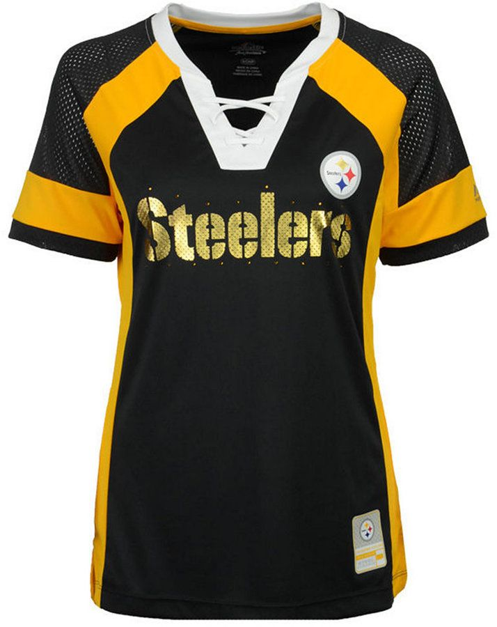 Majestic Women's Pittsburgh Steelers Draft Me T-Shirt