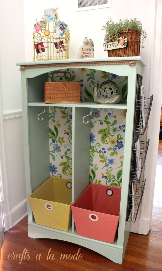 Crafts a la mode : Makeover Front Hall Organizer