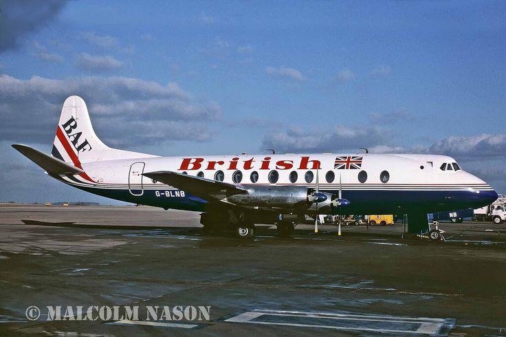 VISCOUNT 802 G-BLNB BRITISH AIR FERRIES