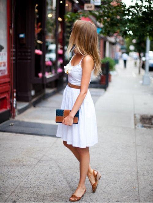 summer outfit: Summer Dresses, White Summer, Summer Dress, Fashion, Summeroutfit, Style, Spring Summer, Summer Outfits, White Dress
