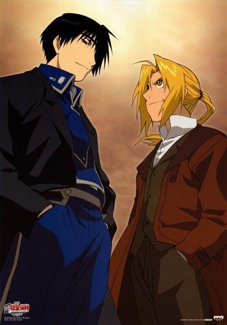 Fullmetal Alchemist (Edward Elric, Roy Mustang) - Minitokyo