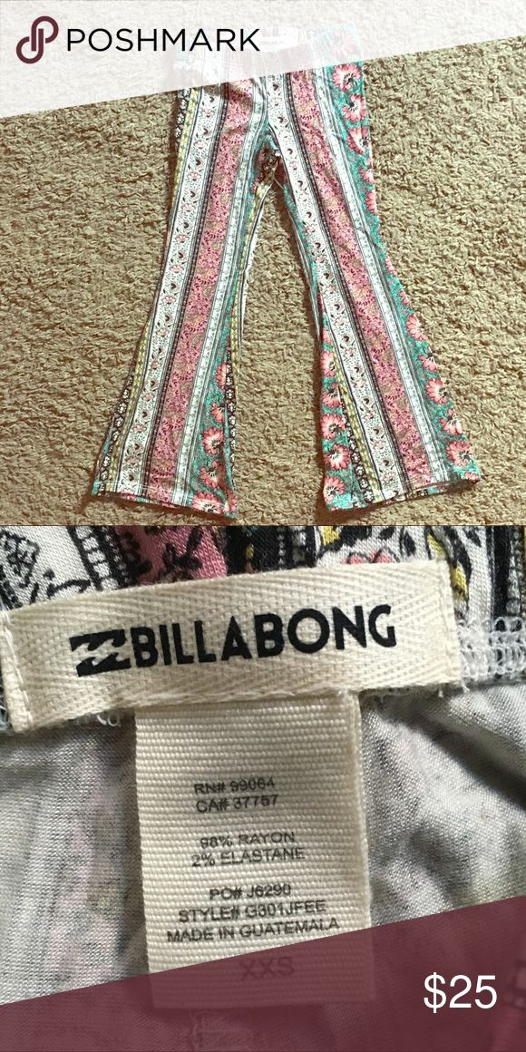 Billabong Girls feeling free flare pant Flare pants. Never used. Young girls flare pants. Billabong Bottoms Casual