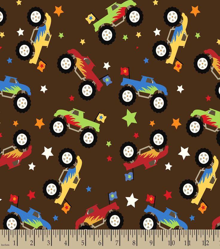 3592 best fabric finds with joann images on pinterest for Monster truck fabric
