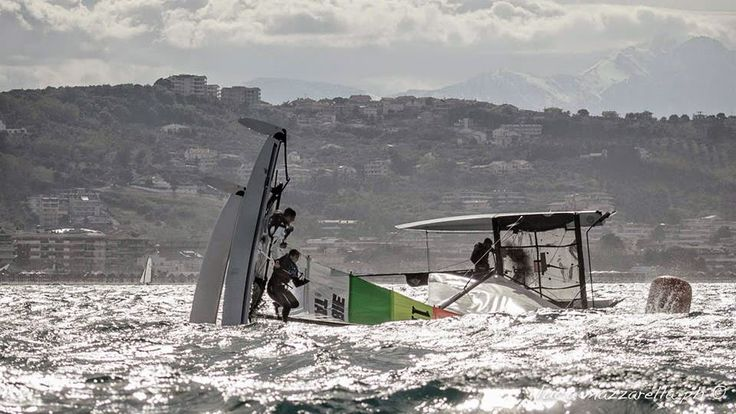 Photo Lucas Mazarella The H16 remains one of the best platforms to generate good sailors, not talking about me of course, just ask Bissaro-Sicouri and  Billy Besson!