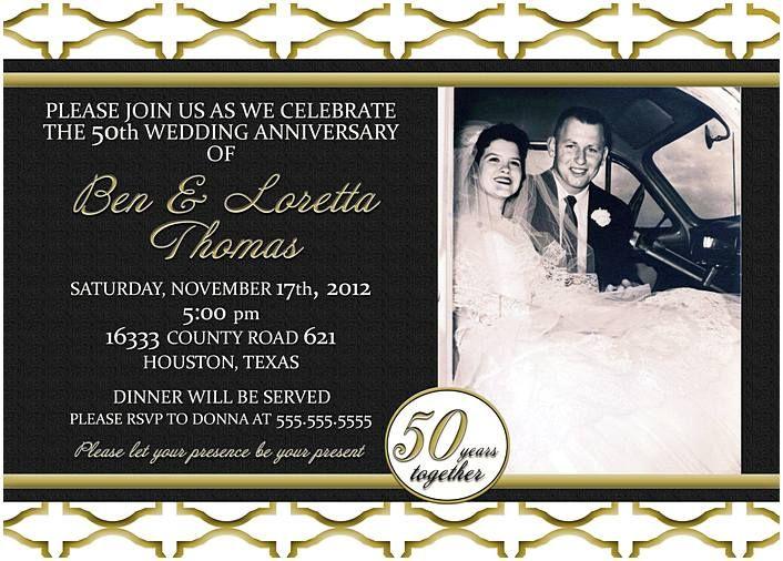 Best  Anniversary Invitations Ideas On    Wedding