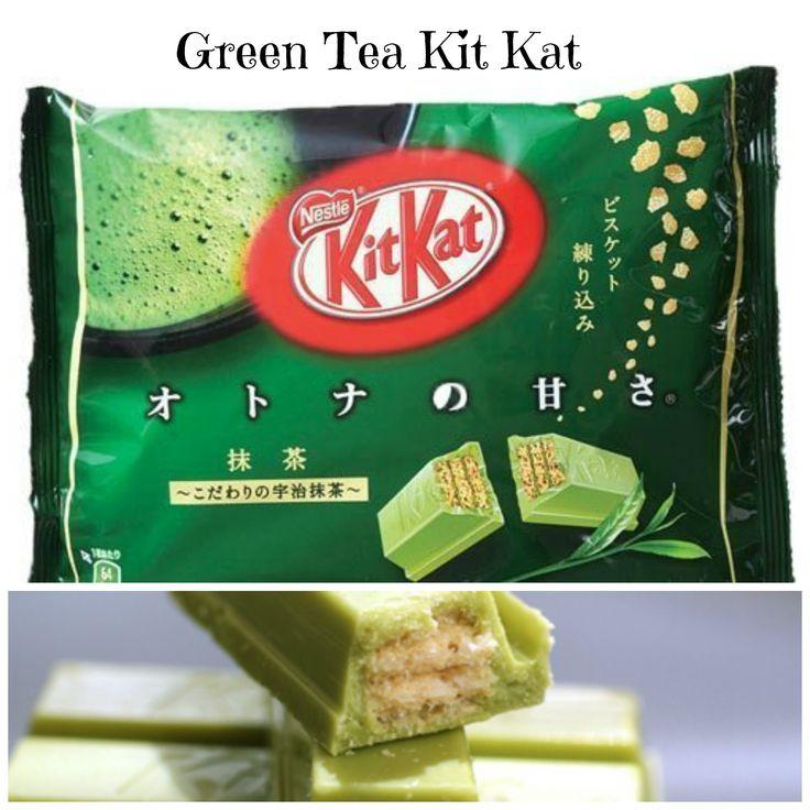 Green Tea Kit Kat Looks good!!!