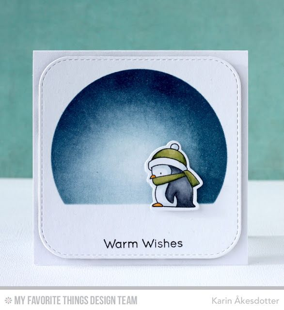 Toasty Greetings, Inside & Out Stitched Rounded Square STAX Die-namics, Stitched Arch STAX Die-namics, Toasty Greetings Die-namics - Karin Åkesdotter   #mftstamps