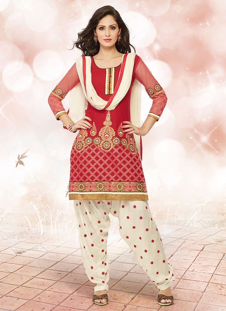 288 Best Images About Punjabi Patiala Salwar Suits On Pinterest Printed Cotton Ux Ui Designer