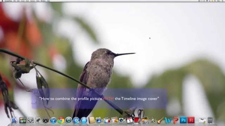 Greatest Tutorial Online - Combine Profile Picture with Timeline image Cover in Facebook