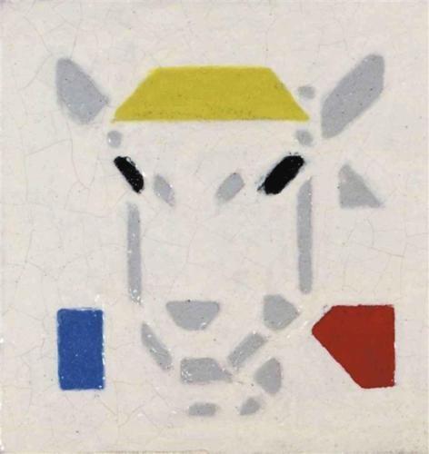 Billy-Goat - Bart van der Leck, Wikipaintings