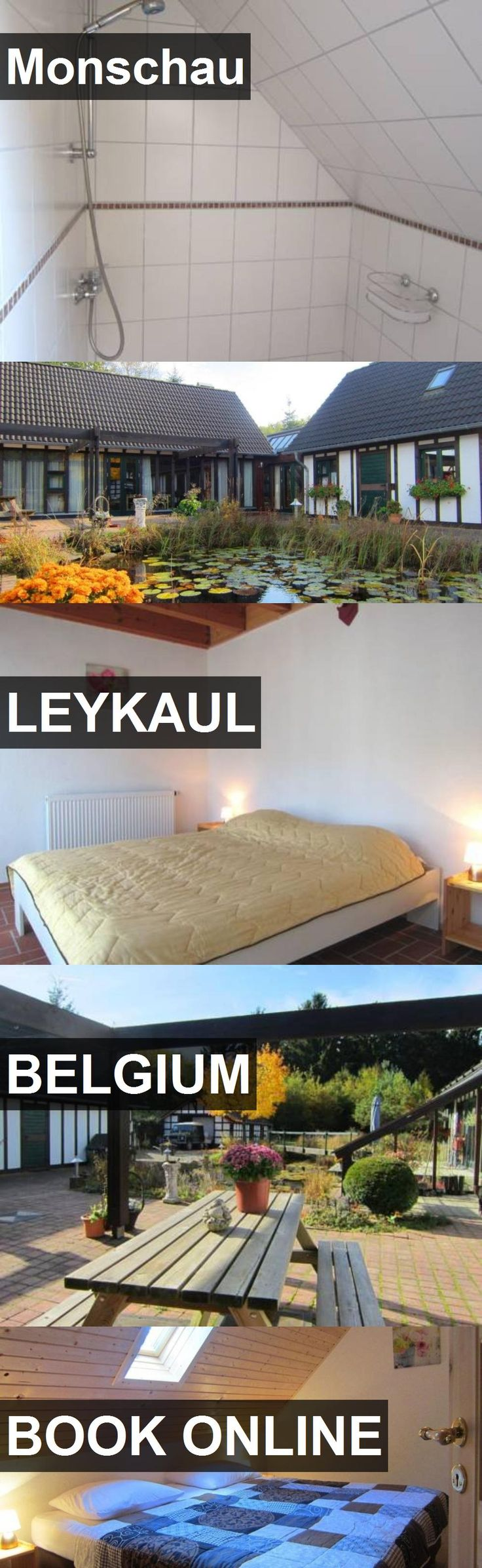 Hotel Monschau in Leykaul, Belgium. For more information, photos, reviews and best prices please follow the link. #Belgium #Leykaul #travel #vacation #hotel