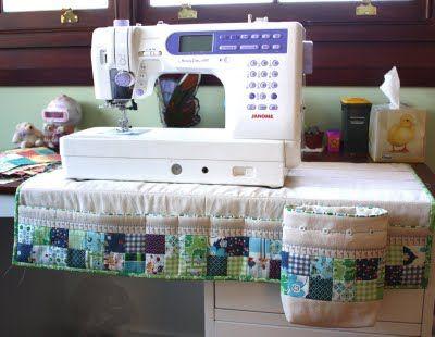 Sewing Machine Caddy Idea