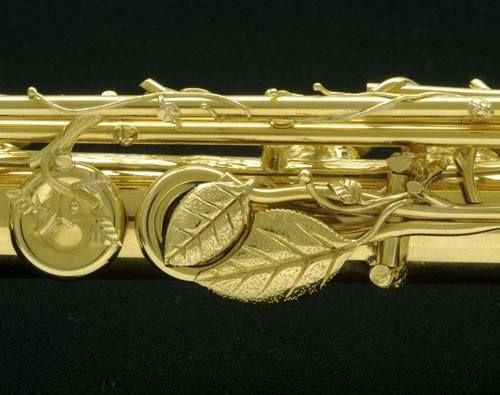Solid Gold Flute Yamaha