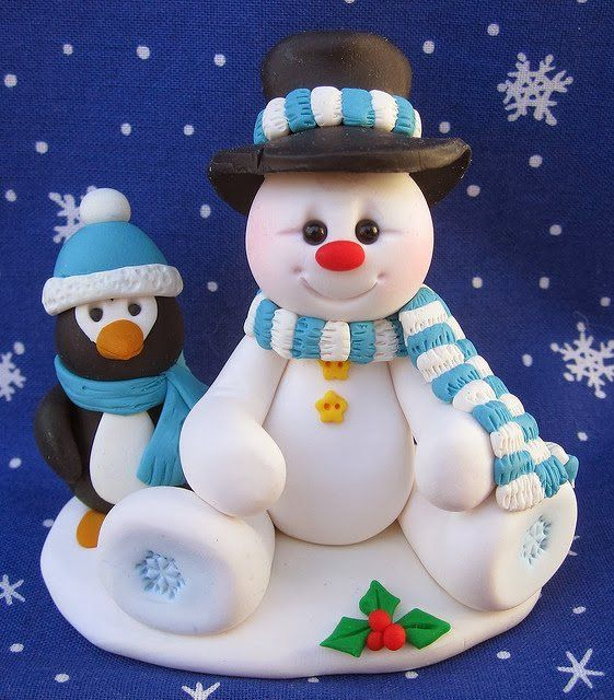 Pretty Snowman Cake Ideas for Christmas - Pretty Designs