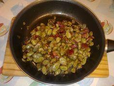 Rosita en la Cocina: HABAS FRITAS CON JAMÓN