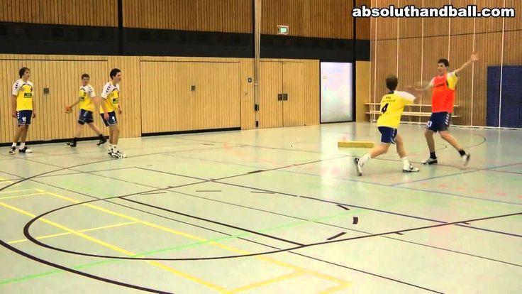 Handball Entscheidungstraining für Rückraumspieler