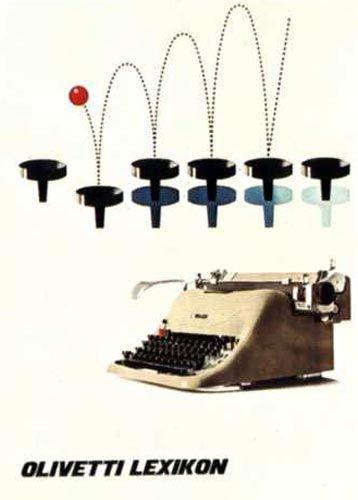 designed by Giovanni Pintori for the Olivetti Lexikon - 1953