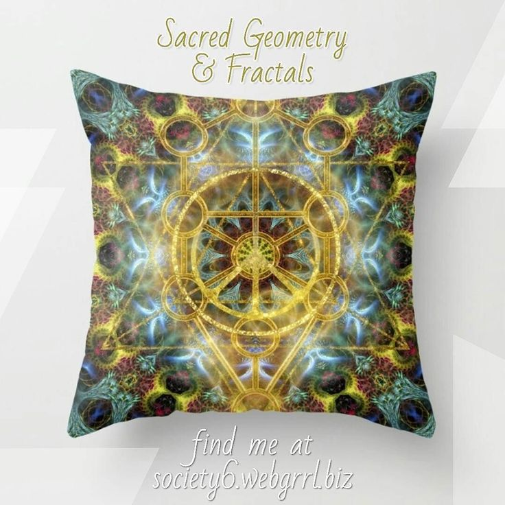 NEW! made last night Sacred Geometry & Fractals design - shown here on the #cushion #throwpillow at #Society6. . . find me at  buff.ly/2i2Xyuo . . Thanks for looking ॐ Namaste . . #mydesigns #sacredgeometry #geometry #fractals #fractalart #digitalart #graphics #homedecor #webgrrlbiz #gold #teal #newage #energy  #yogalife #yoga #psytrance #meditation #focus #balance #mandala