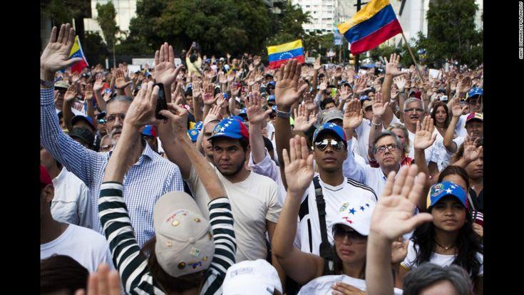 Photos: Protests erupt in Venezuela - CNN.com
