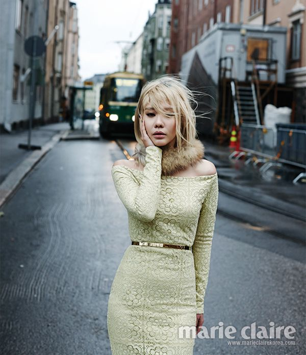 Marie Claire, 2013.12, Kim Ah Joong
