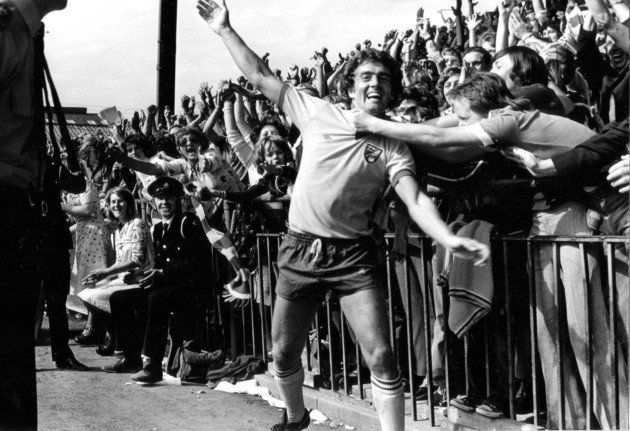 """Canaries Caption It on Twitter: """"Happy 70th birthday to Edward (Ted) 'Supermac' MacDougall. Heroic striker of both #NCFC & #AFCB. 70 top flight games for us 🍾⚽️ https://t.co/CJHVFyyW2n"""""""