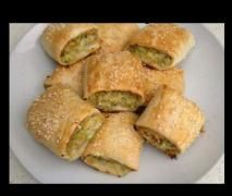 Chicken and Vegetable Sausage Rolls / thermomix