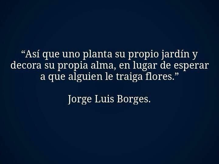 asi es Borges!