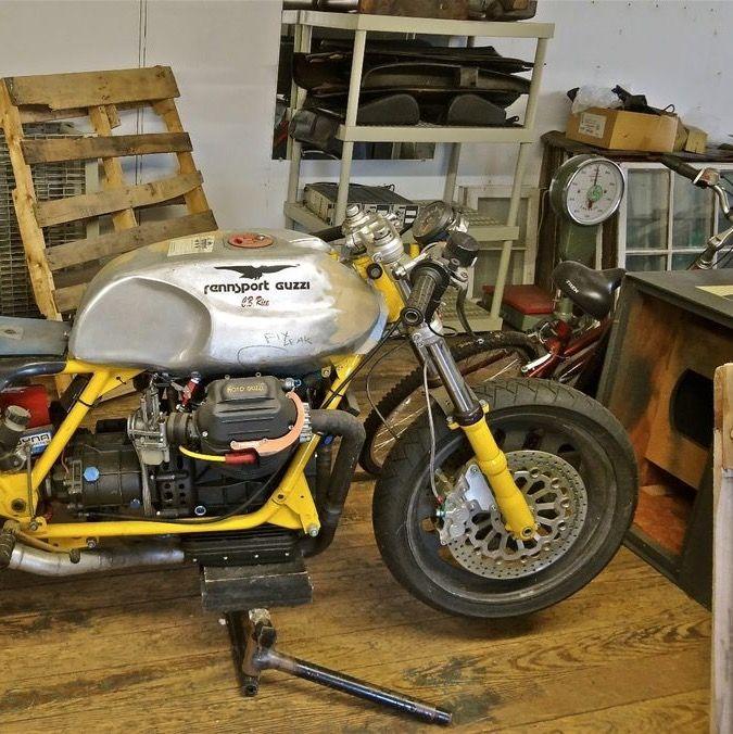 Rennsport Moto Guzzi race bike for sale on ebay