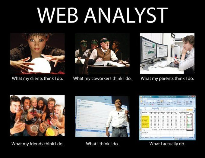 web analyst   je m    appele  comment allez vous    pinterest   how    digital analytics  web analytics  analytics people  digital marketing  analyst job  wild stuff  seo stuff  geek fun  job description