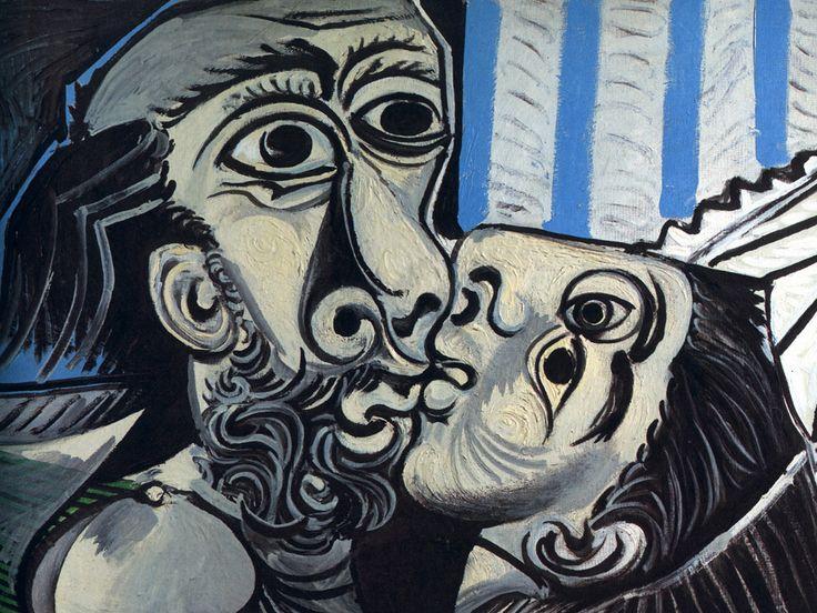 Il bacio, 1925, olio su tela, Musée National Picasso, Parigi