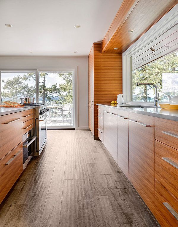 88 Best Images About Kitchens Natural Wood Cabinetry From
