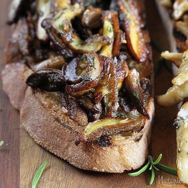 Wild Mushroom Tartines