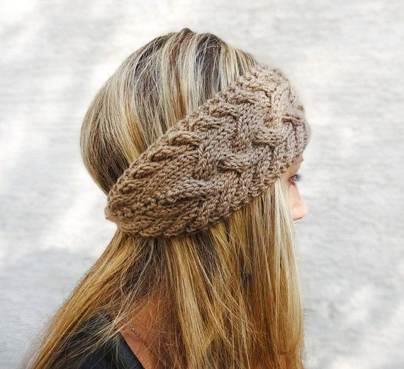 Knit Headband Pattern With Button : 17 of 2017s best Knit Headband Pattern ideas on Pinterest Knitted head...