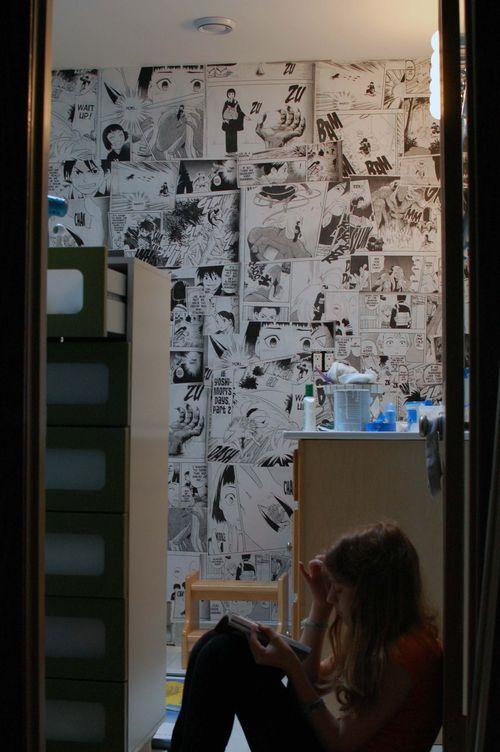 68 best anime room images on pinterest bedrooms decor for Room decor ideas for nerds