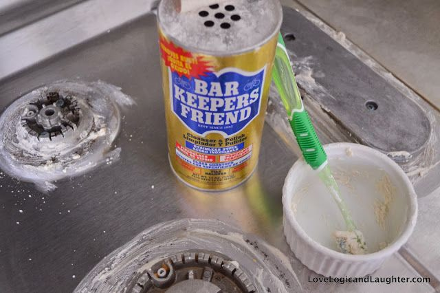 "Logic and Laughter: ""Homemaker's Stainless Steel Cooktop Cleaner Friend"""
