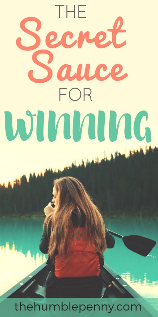 The Secret Sauce For Winning. What does winning mean to you? In my mind, winning is my ability to surpass well crafted and defined goals that I have set myself in relation to my life journey. Read on to understand the exact formula for how to win in your life. #Winning #Win #SMART #Purpose #Objectives #Strategy #Tactics via @TheHumblePenny