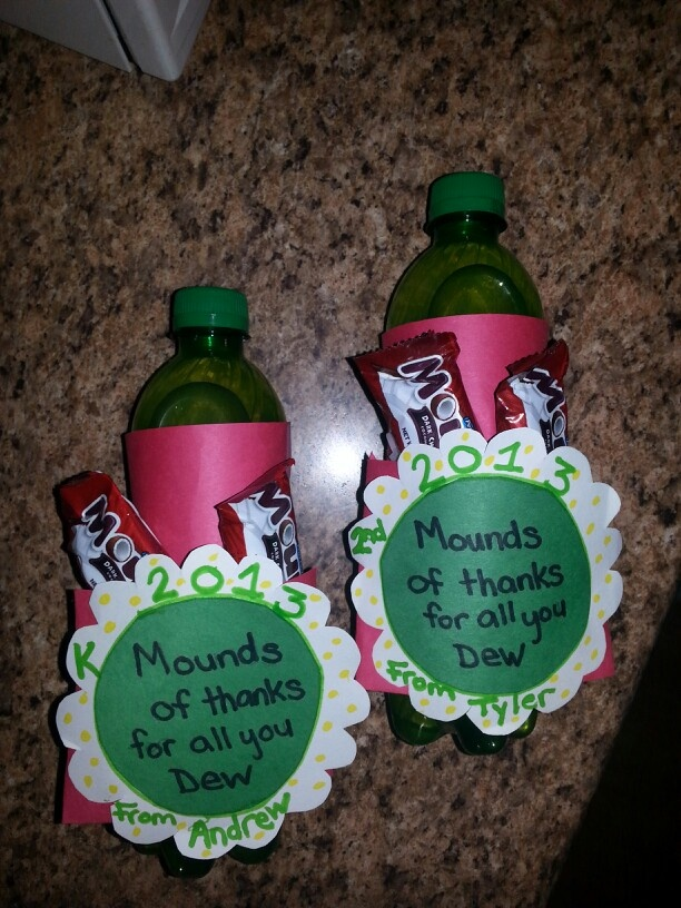 Mounds of thanks for all you dew Our teacher apperation ...