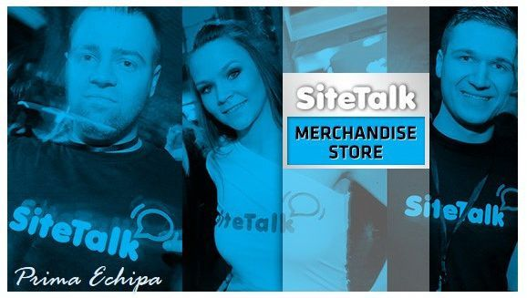 Within the month of September we can expect the launch of the Sitetalk Merchandise Store. Here you will be able to purchase various articles for marketing/promotional purposes that are Sitetalk branded. We will inform everyone of the exact date through a Newsletter and with a Banner of the Sitetalk Merchandising Store on the www.SiteTalk.com/arivle