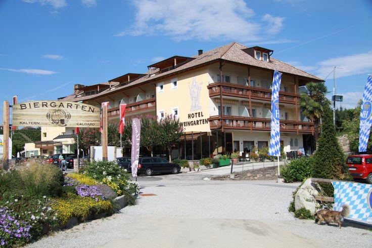 Hotel Weingarten in Kaltern SEHR SCHÖN