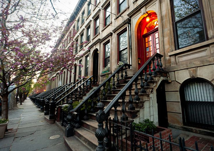 Charming Brownstones in Jersey City, New Jersey